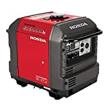 Honda Super Quiet Gasoline Portable Generator with Inverter (EU3000IS1A 3000Watt Electric Start...