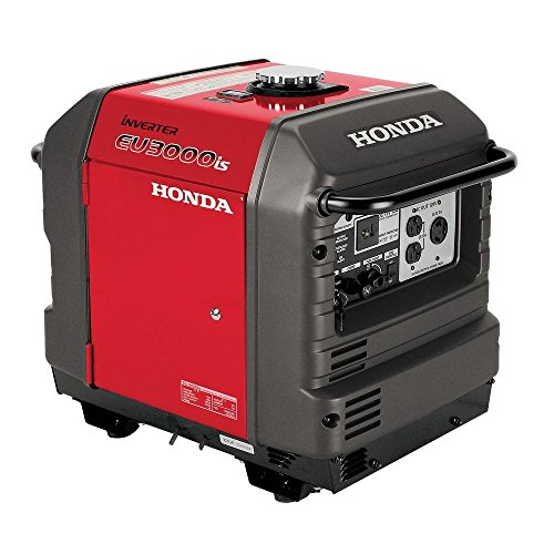 Honda Super Quiet Gasoline Portable Generator with Inverter...