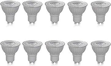 Megaman GU10 Reflector Dimmable LED Lamp, 5 Watt, 2800K Colour Temperature, Warm White 10 Packs