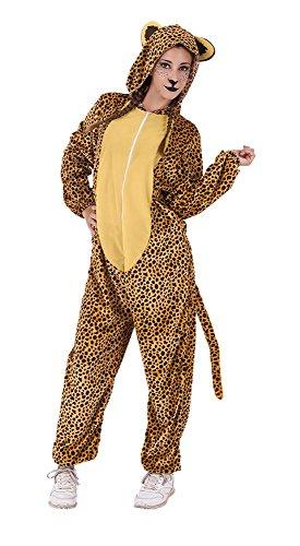 Rubies- Disfraz Leopardo, Talla única (Rubie