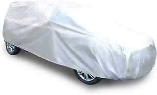 uxcell® 2XL Soft Aluminum Car Cover Waterproof Scratch Rain Snow UV Heat Protection 483 x 178 x 122CM