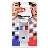 Maquillage Bleu Blanc Rouge pour Visage - Equipe de France