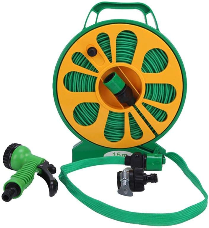 Max 46% OFF hemicala 50 Feet Flat Garden National uniform free shipping Hose Sp Kit Includes and Reel