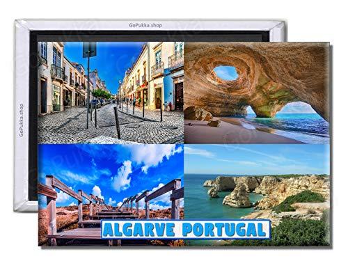 GoPukka Algarve Portugal - Imán para nevera (estándar: 70 x 45 mm)