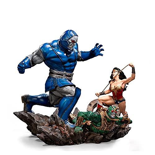 Diorama Wonder Woman VS Darkseid 1/6 - DC Comics By Ivan Reis - Iron Studios