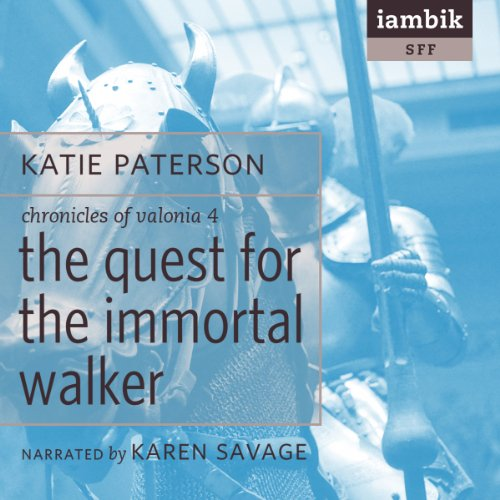 The Quest for the Immortal Walker audiobook cover art