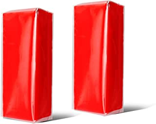 YGDZ Clay Bar, 2pcs Detailing Car Clay Bars, 100g × 2 Auto Wash Bar Cleaner for Car Glass Vehicles Detailing, Red