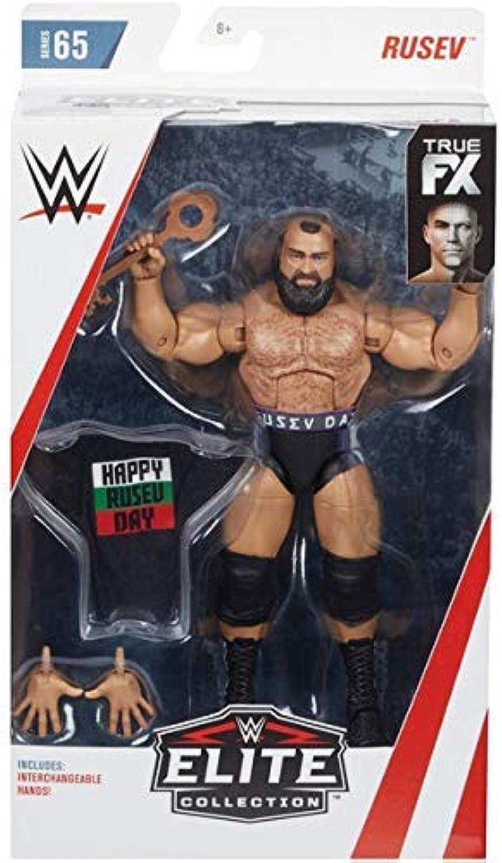WWE Rusev Elite Figur Wrestling Mattel Serie 65