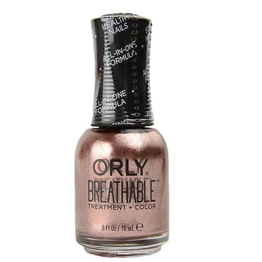 小学生ハイランド吸収Orly Breathable Treatment + Color Nail Lacquer - Fairy Godmother - 0.6oz / 18ml