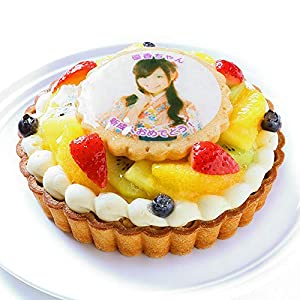 CAKE EXPRESS 写真ケーキ バースデーフルーツタルト 4号