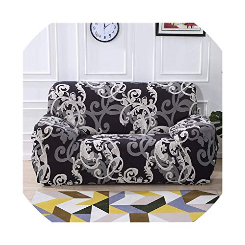 Impresión Floral Stretch elástico Cubierta de sofá sofá algodón sofá Resistente Toalla...