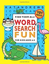 Word Search Fun for Kids Ages 6-8 PDF