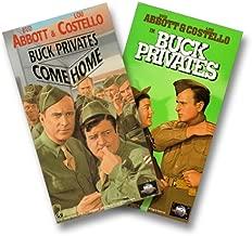 Buck Privates/Buck Privates Come Home VHS