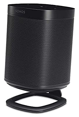 Flexson Desk Stand for Sonos One, One SL and Play:1 - Black by Flexson