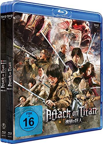 Attack on Titan - Film 1&2 - Bundle - [Blu-ray]