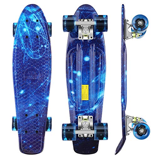 WeSkate Kinder Retro Skateboard 22