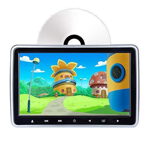 Auto DVD-speler voor hoofdsteun, 10,1 inch controledisplay, DVD-speler met automatische lading, HDMI-ingang/AV-uitgang, synchronisatiedisplay, zone zonder regio, USB/SD