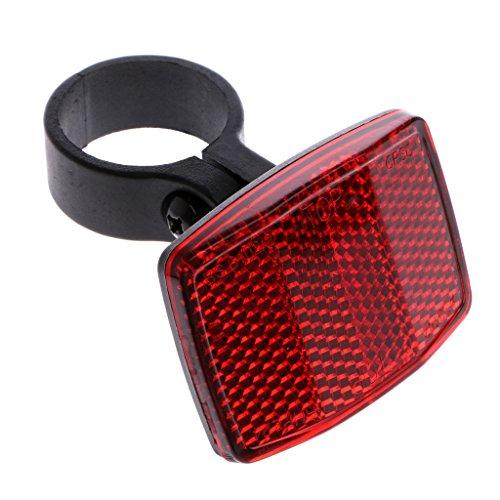 Celan Fahrrad-Lenkerreflektor, reflektierend, Vorder- und Rücklicht, Sicherheitslinse