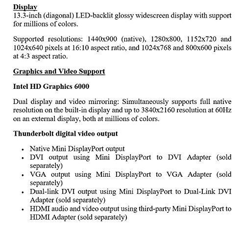 Comparison of Apple MacBook Air (MMGG2B/A-cr) vs Apple MacBook Pro (MF839B/A-cr)
