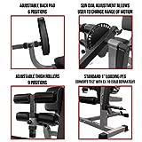 Valor Fitness CC-4 Leg Extension Leg Curl Machine Weight Machines Home Gym Workout Quad Extension...