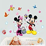 Kibi Pegatinas Infantiles Pared Minnie Pegatinas Decorativas Pared...