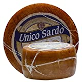 Food-United Käse - PECORINO SARDO UNICO - Italienischer-Schafs-Hartkäse-Laib Pecora italiana a pasta dura tradizionale ca. 3,0 KG kräftig-würziger Geschmack lange Reifezeit