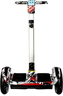 Hover Bord Electric Scooter With Hand For Kids, 10 Inch - Multi Color - 2725470752164