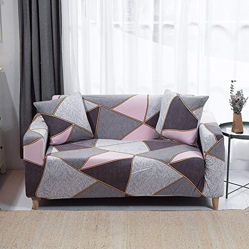 WXQY Funda de sofá elástica Funda de sofá, Funda de sofá de Sala de Estar Moderna, Funda de protección de Silla en Forma de L de Esquina, Funda de sofá A1 de 3 plazas