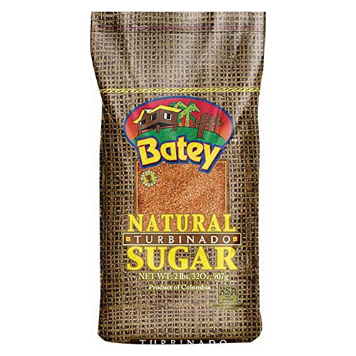 Batey Sugar Natural Turbinado, 2 lb