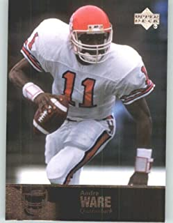 andre ware rookie card
