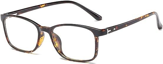 ANRRI Blue Light Blocking Glasses for Computer Use, Anti Eyestrain UV Filter Eyeglasses Lightweight Frame,Tortoise, Man/Women