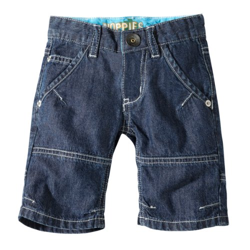 Noppies - 15310 Short Denim Boy Sun-Glasses - Pantalon - bébé garçon - Bleu v158-81 (DE: 80)