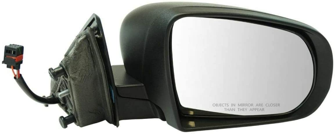 A surprise price is realized Exterior Mirror Black Textured Power RH Max 64% OFF Side Passenger Compatibl