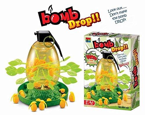Nieuw! Geniaal familiespel BOMB DROP – behendigheidsspel partyspel bombe Mikado spel zoals aap aapspel