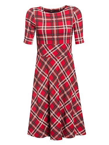 Vive Maria British Day Dress red Allover, Größe:XXL