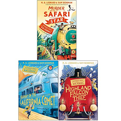 Adventures on Trains Series 3 Books…
