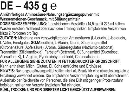 BSN Amino X Watermelon BCAA Puler (1 x 435g) - 3