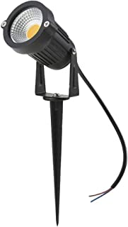 Yaeer LED COB Outdoor Sportlights IP65 Waterproof Yard Garden Pathway Lights Wall Trees Flags Spot Light, 5W, Warm White, ...