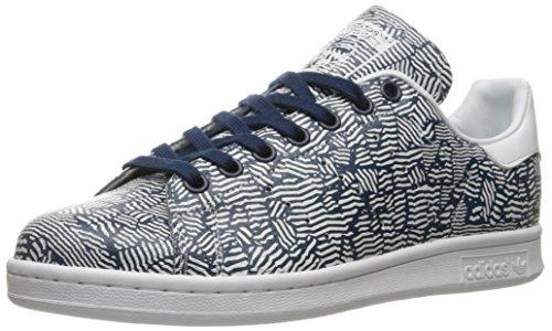 adidas Originals Stan Smith Scarpe da Ginnastica, Bianco/Oro, 34,5 EU, Blu (Collegiate Navy Collegiate Blu Marino Bianco), 40 2/3 EU