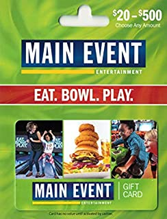 Main Event Entertainment Gift Card