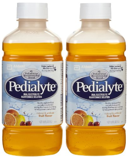 Pedialyte Oral Electrolyte Solution - Fruit - 1 lt - 2 pk by Pedialyte