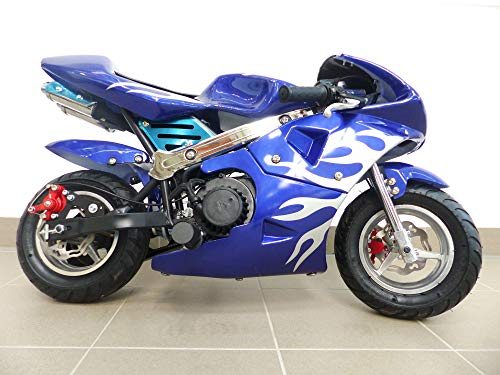 RV-Racing Pocketbike Dirtbike Pocket Rennbike Minibike 49ccm Kindermotorrad Rennmotorrad