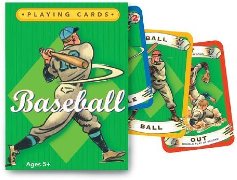 EeBoo Baseball Playing Cards by eeBoo