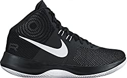 top 10 value basketball shoes Nike Air Precision NBK Men's Basketball Shoes (9, Black / White / Cool Gray)