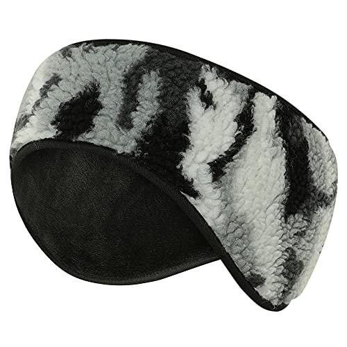 Arcweg Diadema Headband Invierno Hombre Deportes Calentadores de Orejas Mujer Diadema Cálido Fleece Diadema Orejeras Elástico para Ciclismo Correr Senderismo Deportes de Invierno