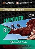 Cambridge English Empower B1+: Class DVD. Für Erwachsenenbildung/Hochschulen.