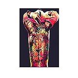 NENBN Memphis Depay Poster, dekoratives Gemälde, Leinwand,