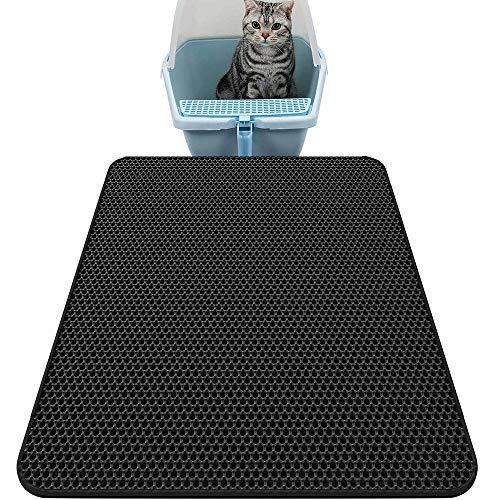 Alfombra para mascotas, recogedor de arena gato, alfombra para gato, estera de arena gatos.