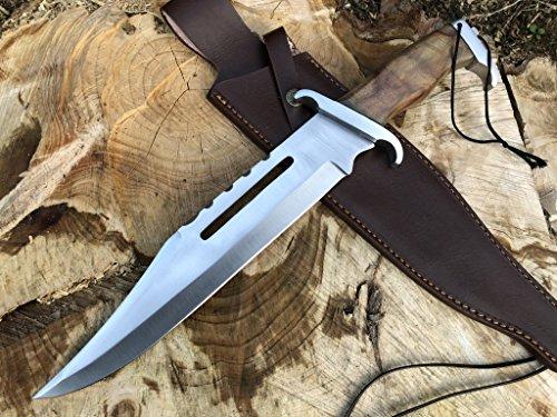 Perkin Jagdmesser Bowie Messer mit Scheide