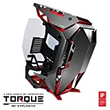Antec Torque Black/Red Aluminum ATX Mid Tower Computer Case/Winner of iF Design Award 2019